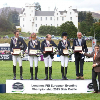 Longines timed the victory of the German riders at the Longines FEI European Eventing Championship 2015