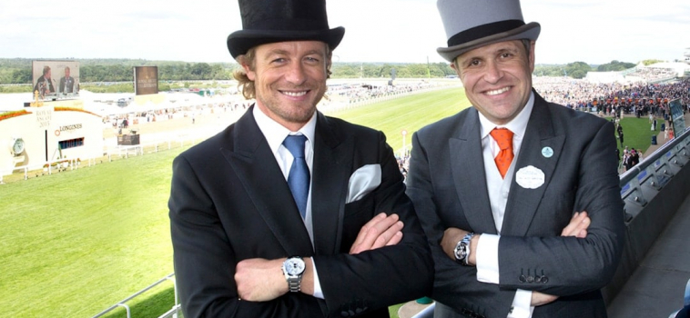 Simon Baker at Royal Ascot for a very British Day at the Races