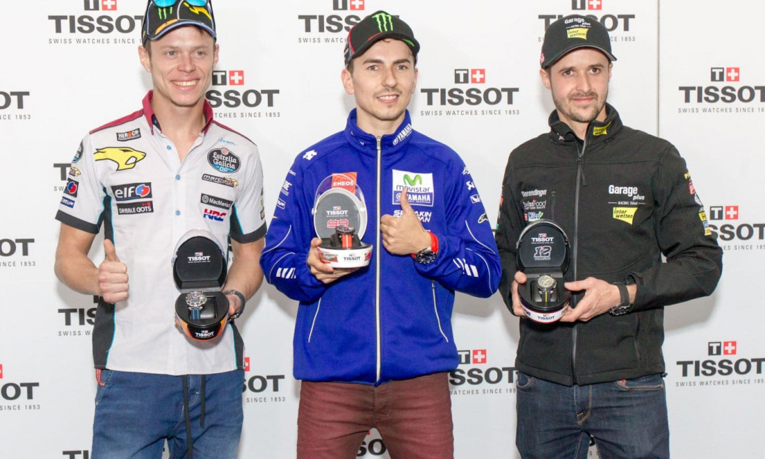 MotoGP™ Finale Crowned by Presentation of 2017 Tissot MotoGP™ Watch Collection
